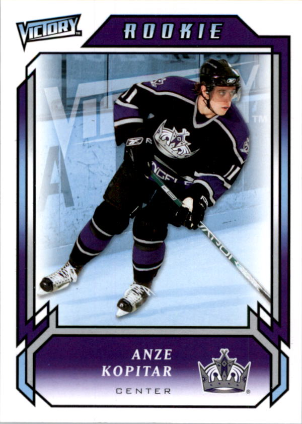2006-07 Upper Deck Victory #285 Anze Kopitar RC