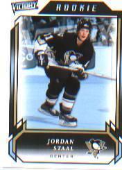 2006-07 Upper Deck Victory #292 Jordan Staal RC