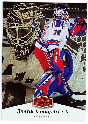 2006-07 Flair Showcase #65 Henrik Lundqvist