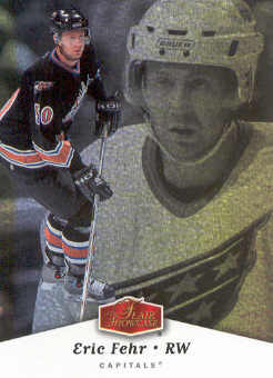 2006-07 Flair Showcase #98 Eric Fehr RC