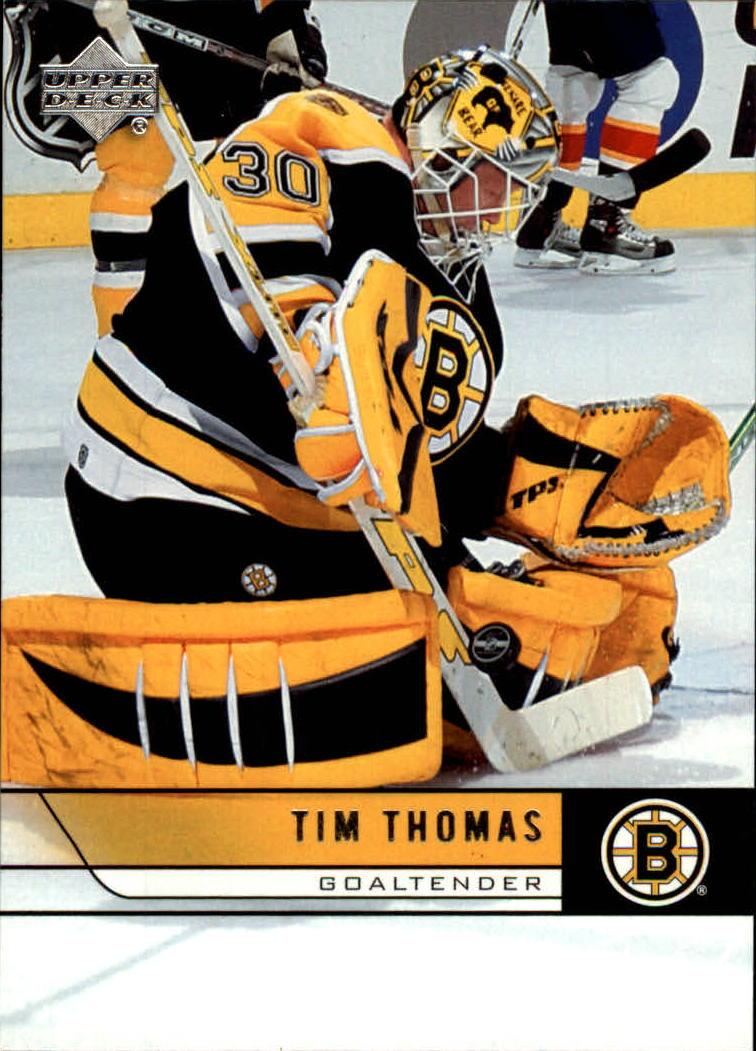 2006-07 Upper Deck #17 Tim Thomas