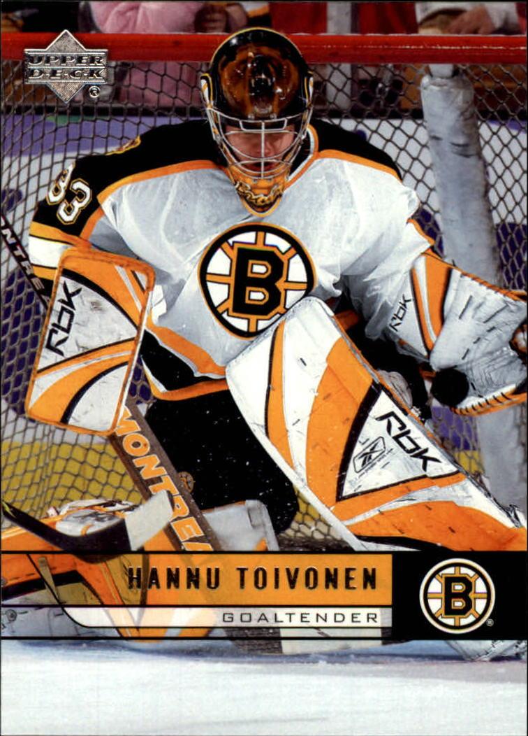 2006-07 Upper Deck #19 Hannu Toivonen