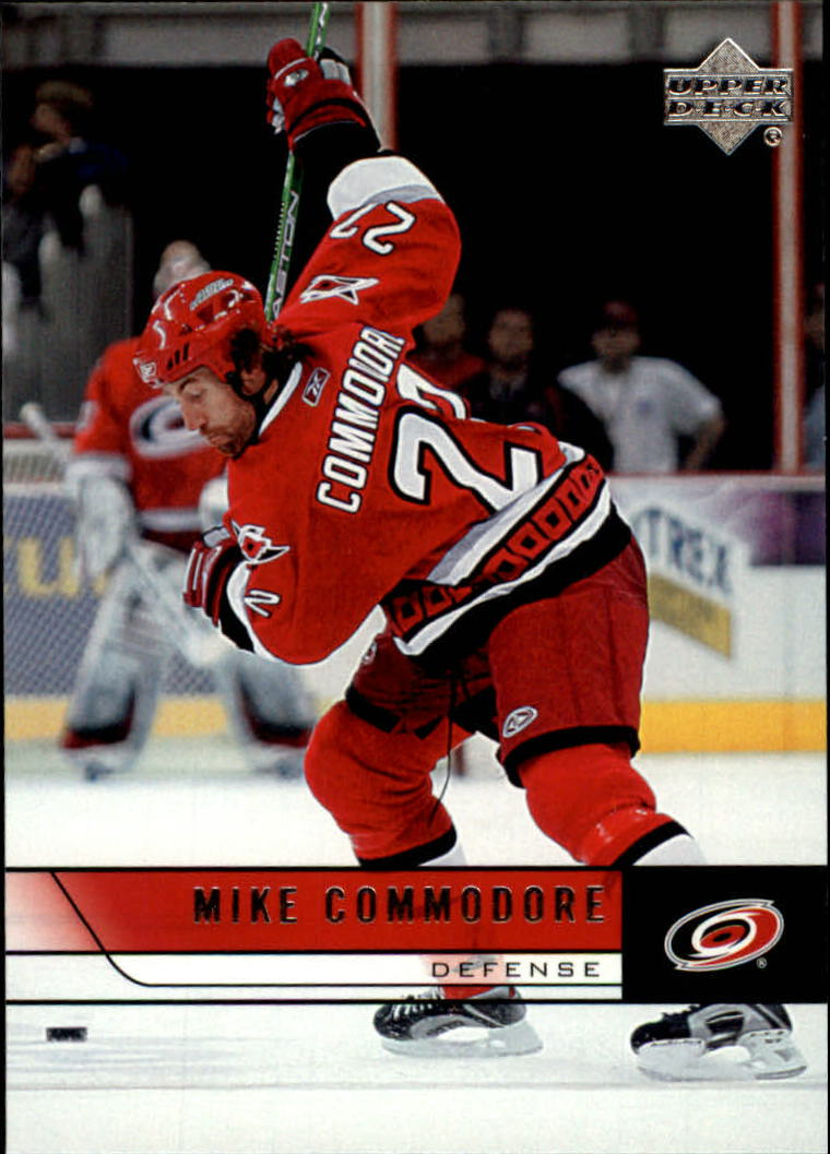 2006-07 Upper Deck #39 Mike Commodore
