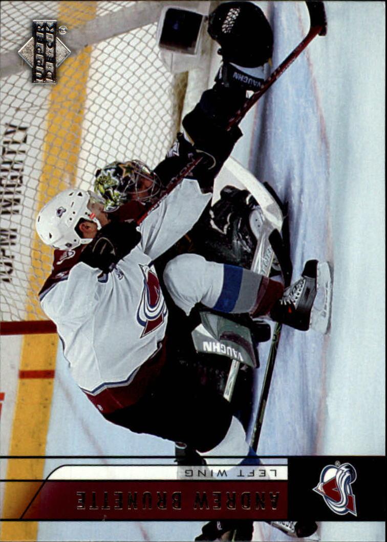 2006-07 Upper Deck #51 Andrew Brunette