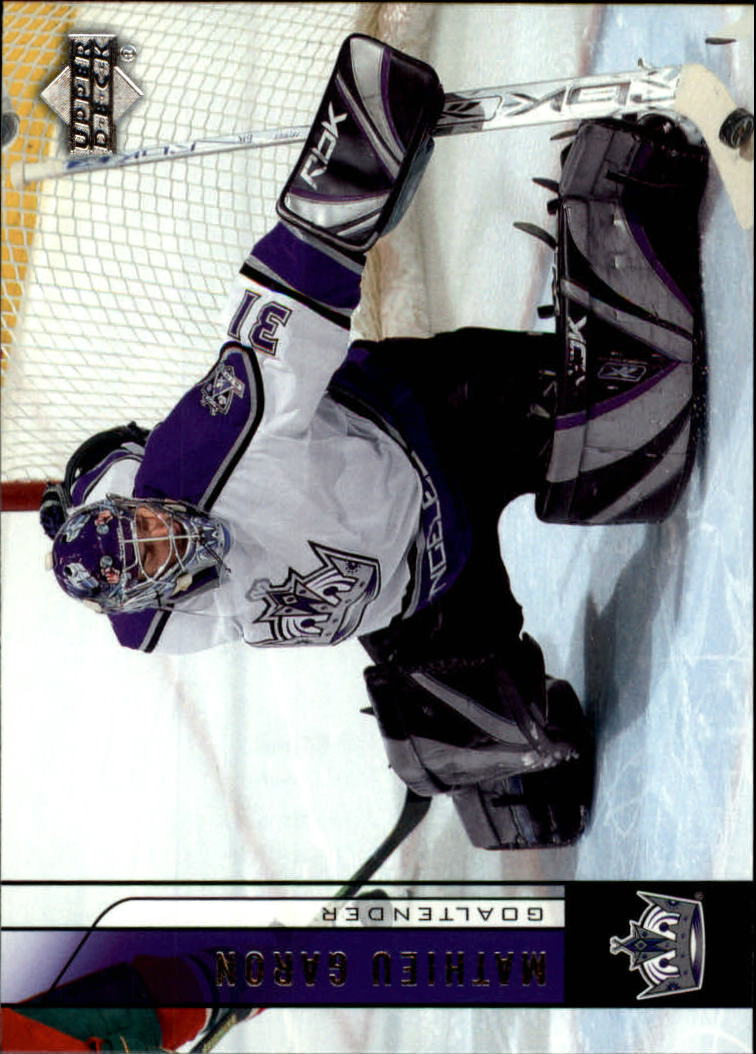 2006-07 Upper Deck #88 Mathieu Garon