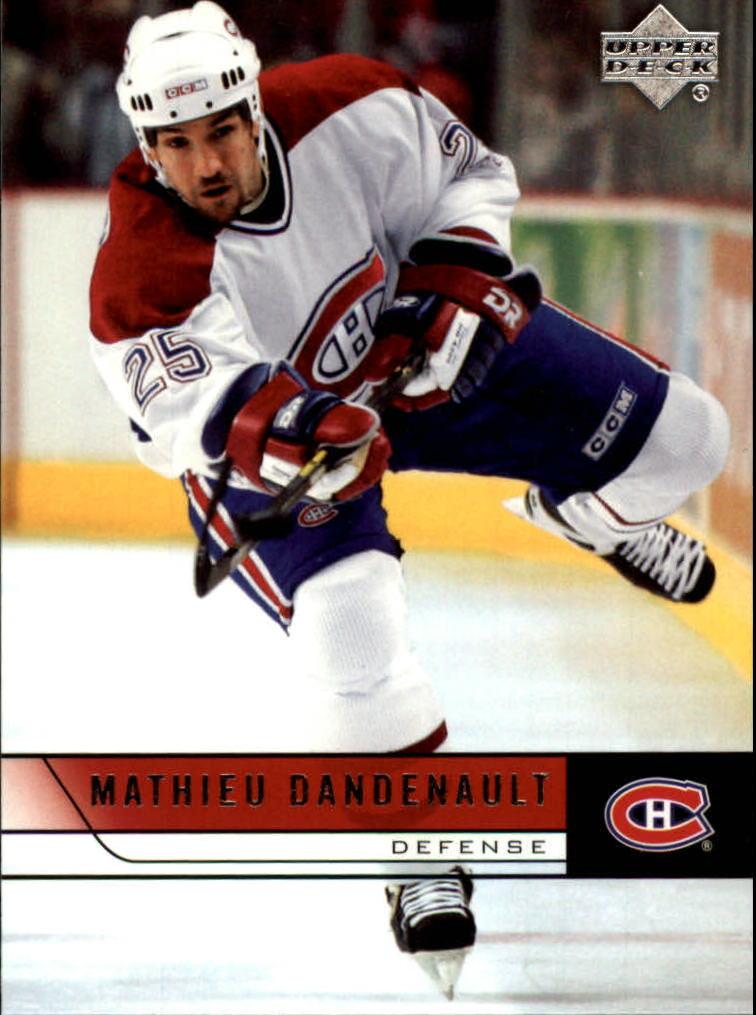 2006-07 Upper Deck #106 Mathieu Dandenault