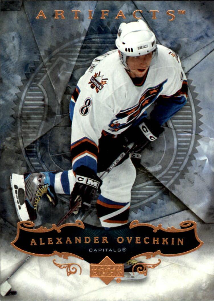 2006-07 Artifacts #1 Alexander Ovechkin