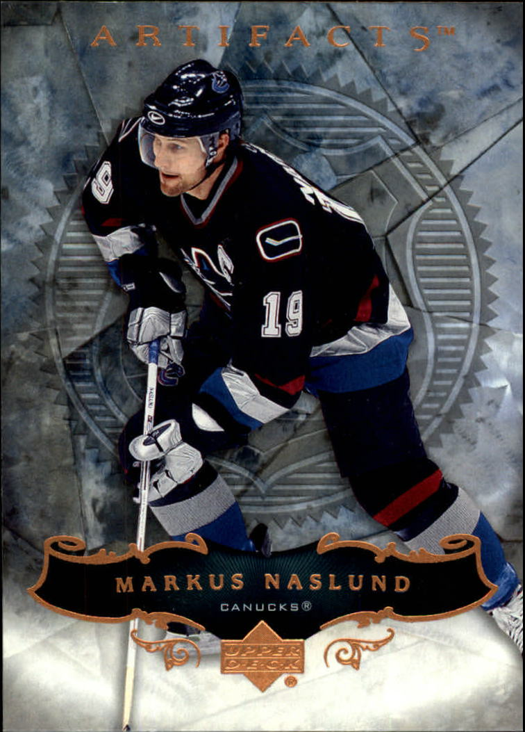2006-07 Artifacts #4 Markus Naslund