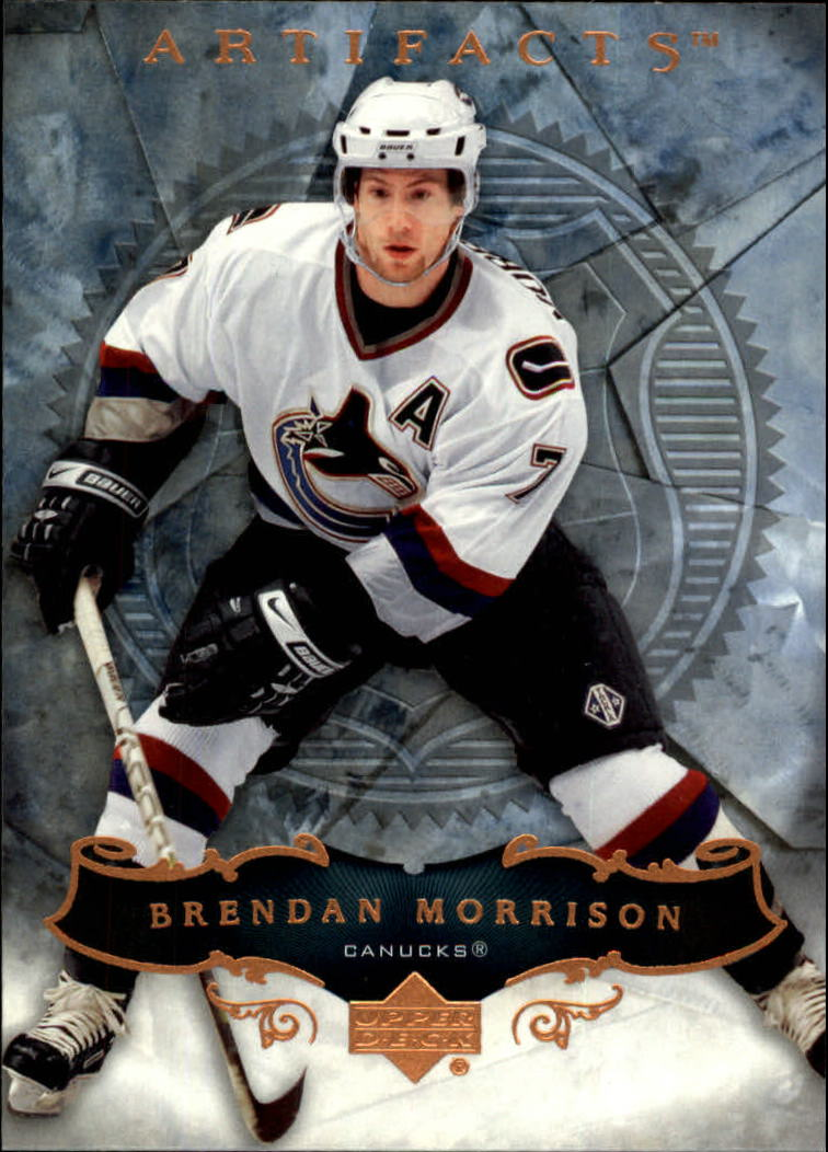 2006-07 Artifacts #5 Brendan Morrison