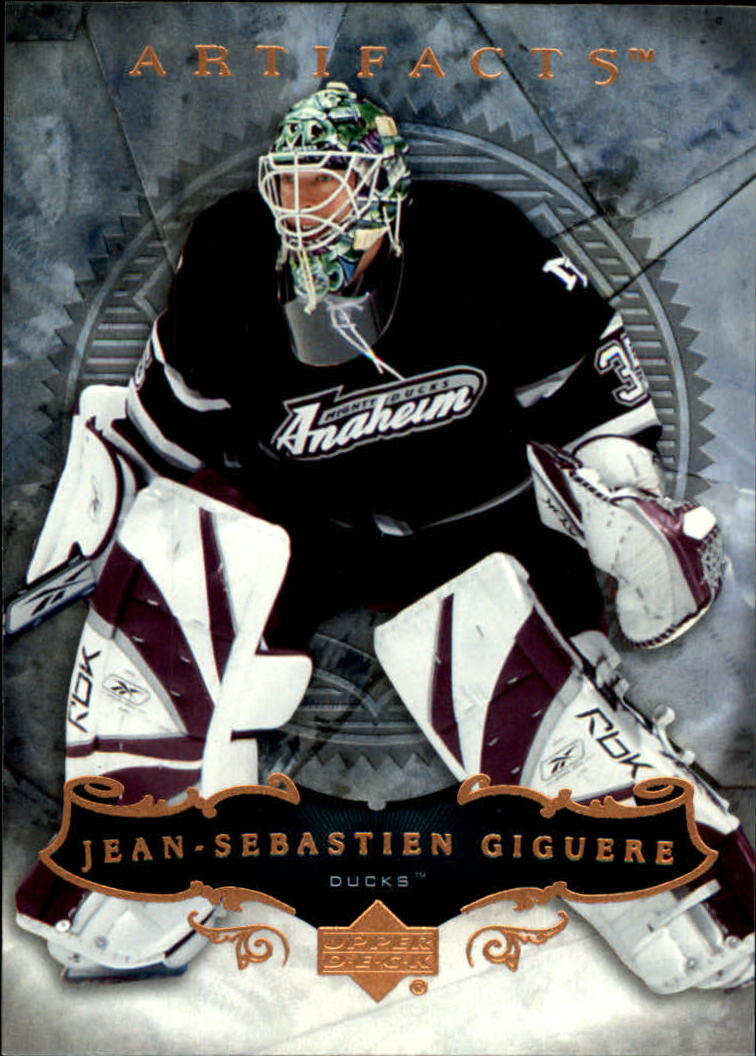 2006-07 Artifacts #99 Jean-Sebastien Giguere