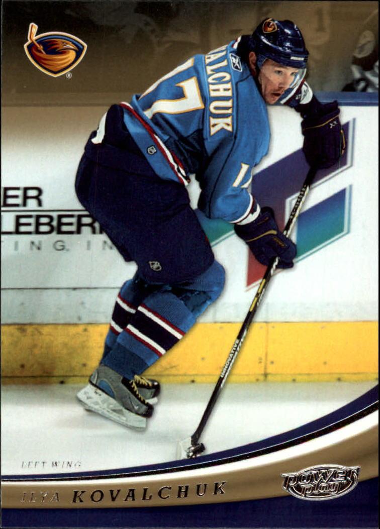 2006-07 Upper Deck Power Play #4 Ilya Kovalchuk