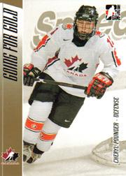 2006 ITG Going For Gold Women's National Team #7 Cheryl Pounder
