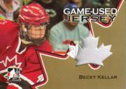 2006 ITG Going For Gold Women's National Team Jerseys #GUJ04 Becky Kellar