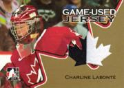 2006 ITG Going For Gold Women's National Team Jerseys #GUJ01 Charline Labonte