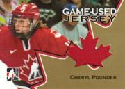 2006 ITG Going For Gold Women's National Team Jerseys #GUJ07 Cheryl Pounder