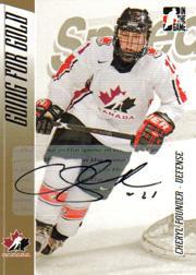2006 ITG Going For Gold Women's National Team Autographs #APO Cheryl Pounder