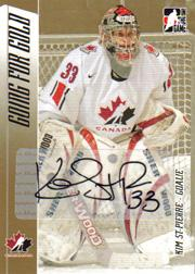 2006 ITG Going For Gold Women's National Team Autographs #AST Kim St. Pierre