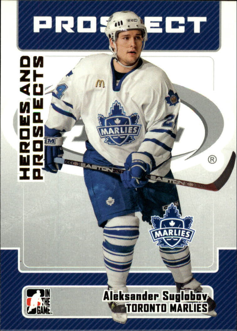 2006-07 ITG Heroes and Prospects #51 Aleksander Suglobov
