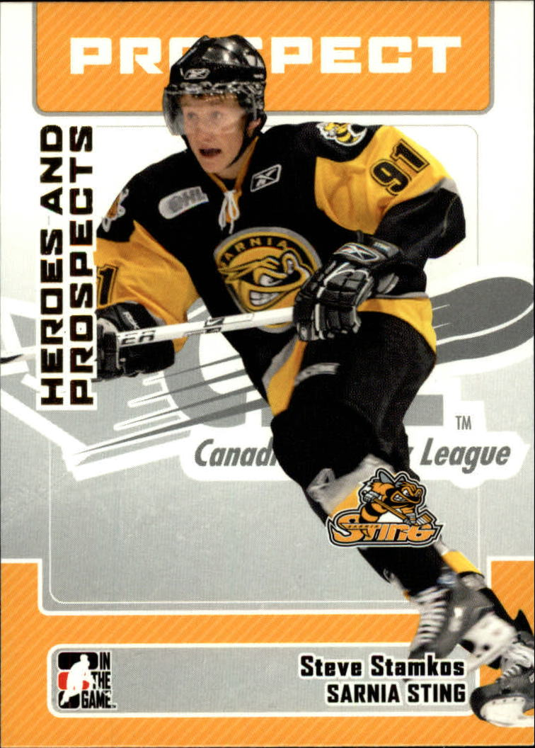 2006-07 ITG Heroes and Prospects #80 Steven Stamkos