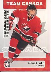 2006-07 ITG Heroes and Prospects #147 Sidney Crosby