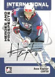 2006-07 ITG Heroes and Prospects Autographs #AAK Anze Kopitar