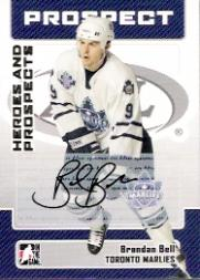 2006-07 ITG Heroes and Prospects Autographs #ABB Brendan Bell