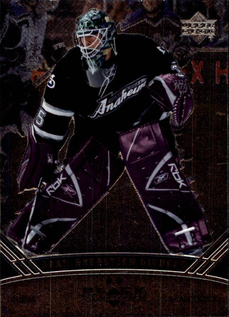 2006-07 Black Diamond #86 Jean-Sebastien Giguere