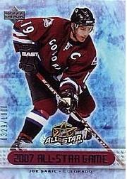 2007 Upper Deck All Star Game Redemptions #AS4 Joe Sakic