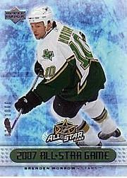 2007 Upper Deck All Star Game Redemptions #AS9 Brenden Morrow