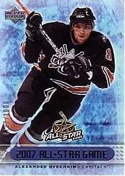 2007 Upper Deck All Star Game Redemptions #AS10 Alexander Ovechkin
