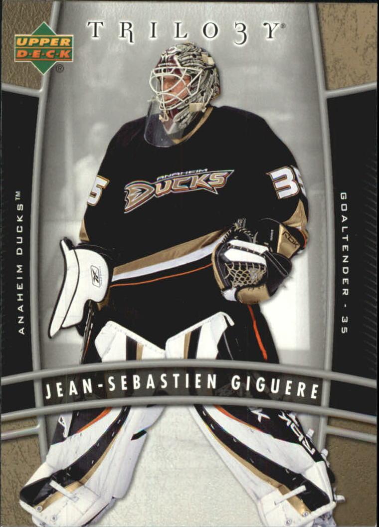 2006-07 Upper Deck Trilogy #3 Jean-Sebastien Giguere