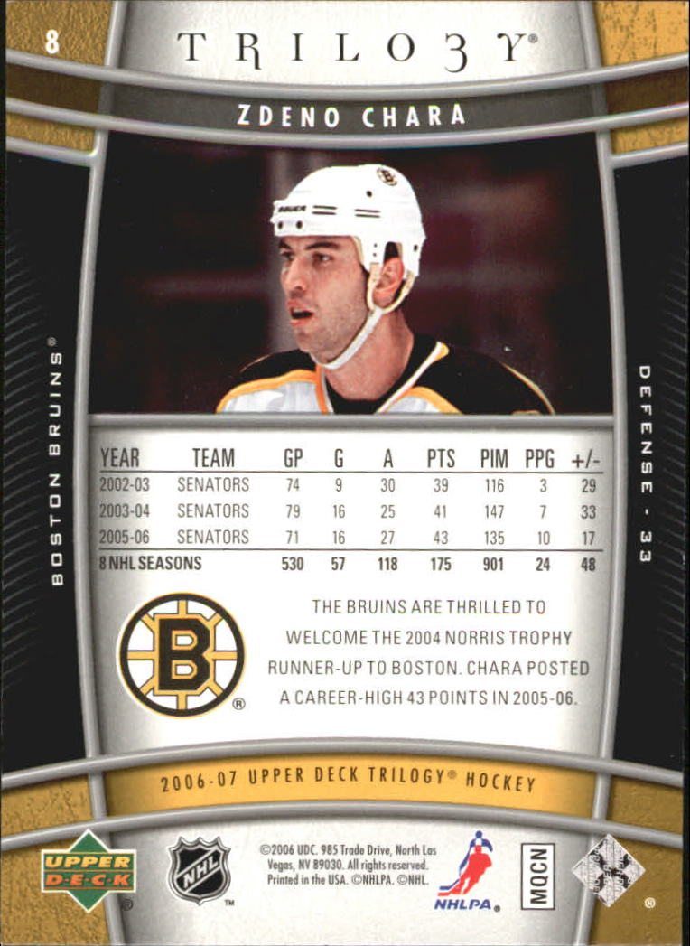 2006-07-Upper-Deck-Trilogy-Hockey-Cards-Pick-From-List thumbnail 13