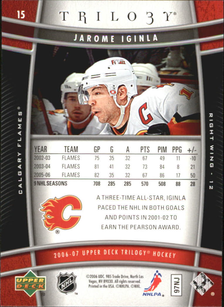 2006-07-Upper-Deck-Trilogy-Hockey-Cards-Pick-From-List thumbnail 19