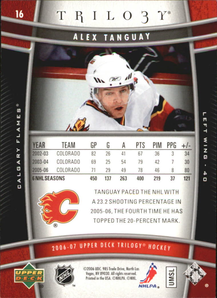 2006-07-Upper-Deck-Trilogy-Hockey-Cards-Pick-From-List thumbnail 21