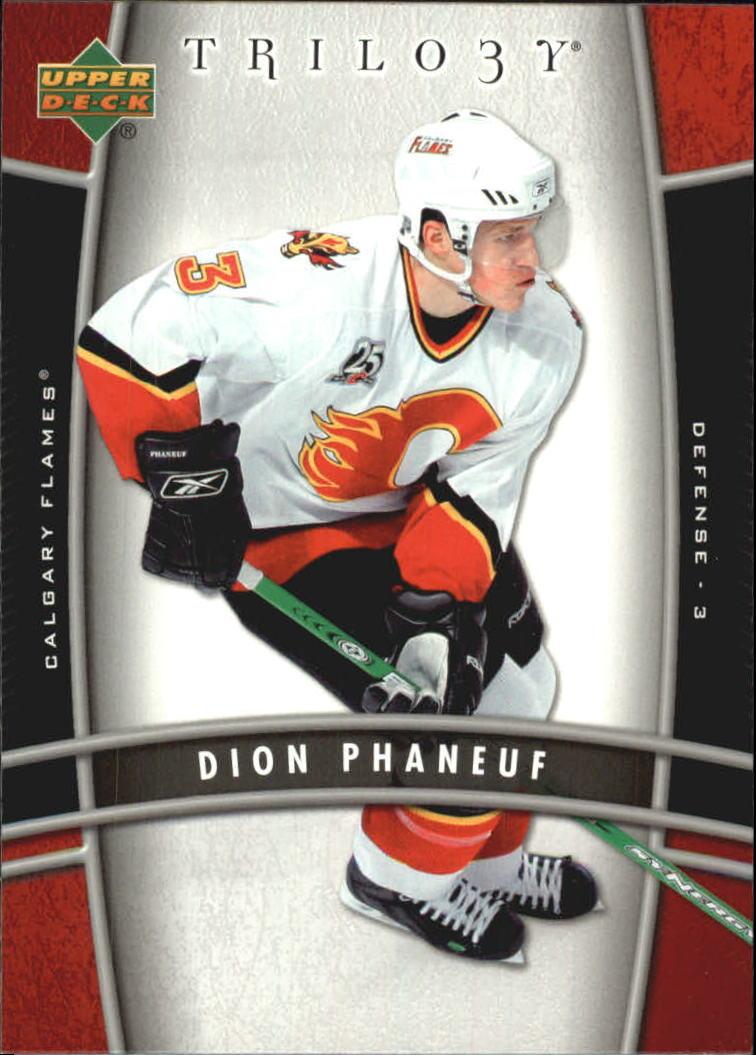 2006-07 Upper Deck Trilogy #17 Dion Phaneuf