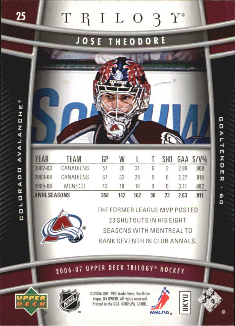 2006-07-Upper-Deck-Trilogy-Hockey-Cards-Pick-From-List thumbnail 35