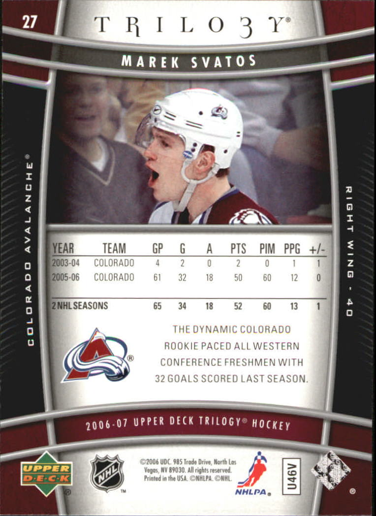 2006-07-Upper-Deck-Trilogy-Hockey-Cards-Pick-From-List thumbnail 37
