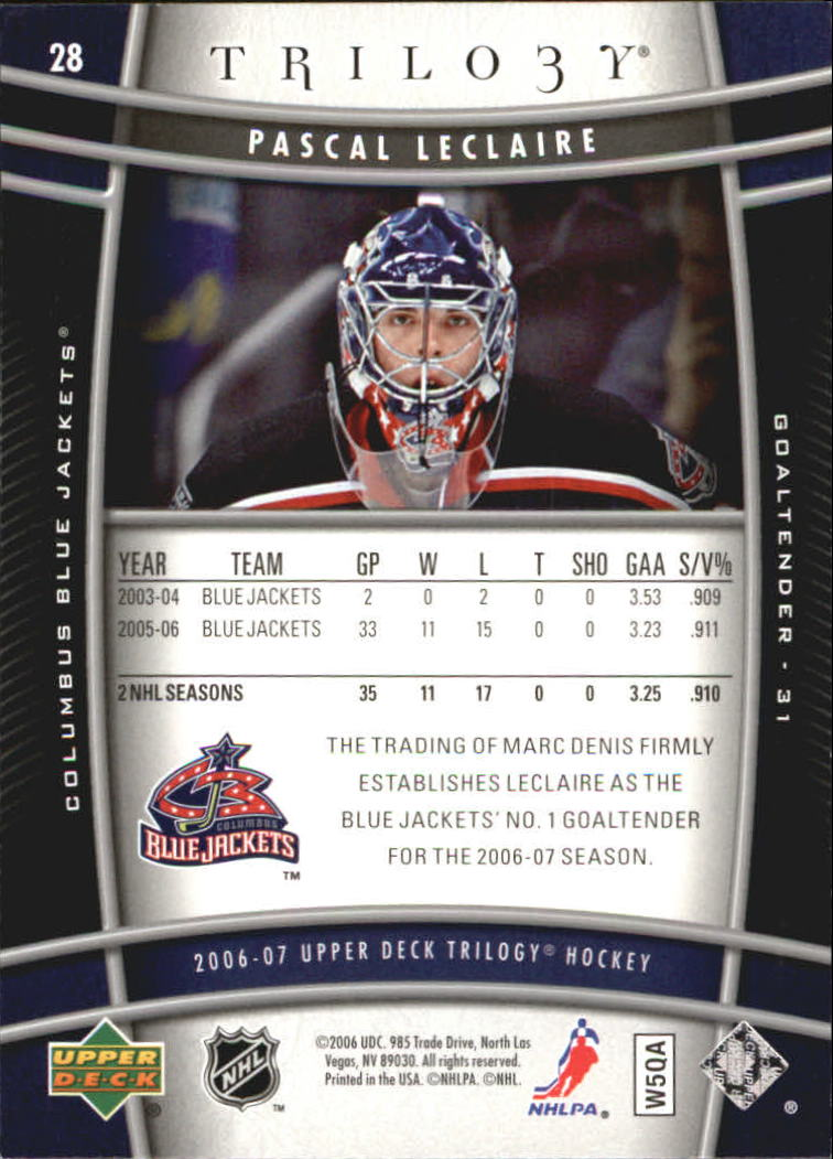 2006-07-Upper-Deck-Trilogy-Hockey-Cards-Pick-From-List thumbnail 39
