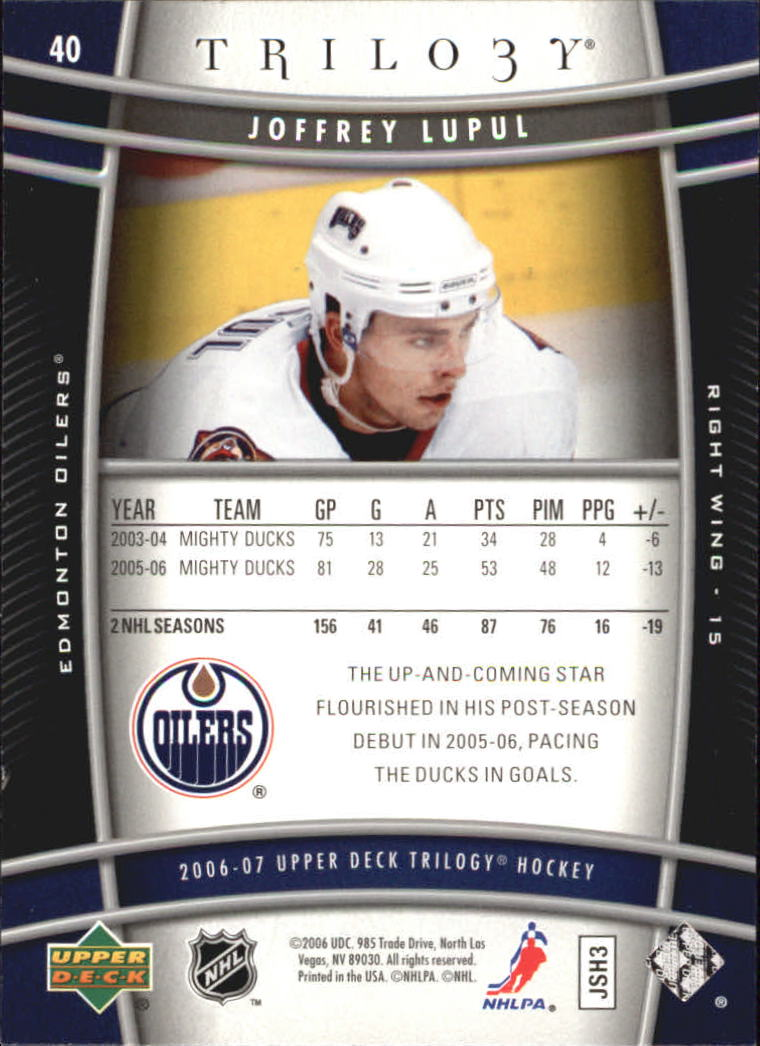 2006-07-Upper-Deck-Trilogy-Hockey-Cards-Pick-From-List thumbnail 59