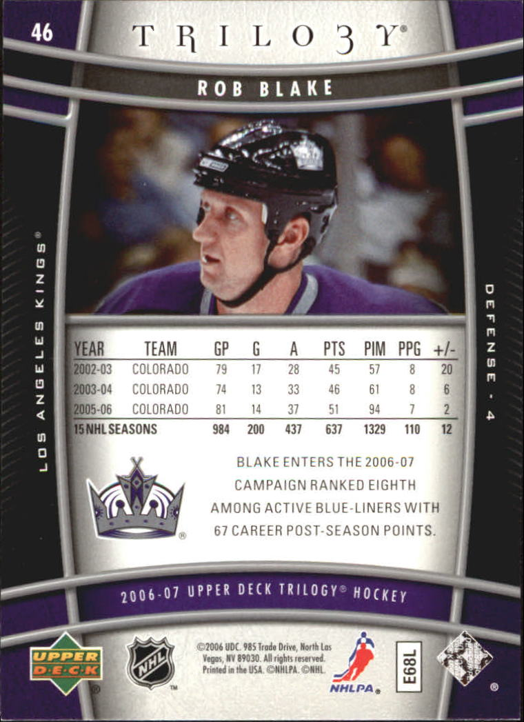 2006-07-Upper-Deck-Trilogy-Hockey-Cards-Pick-From-List thumbnail 67