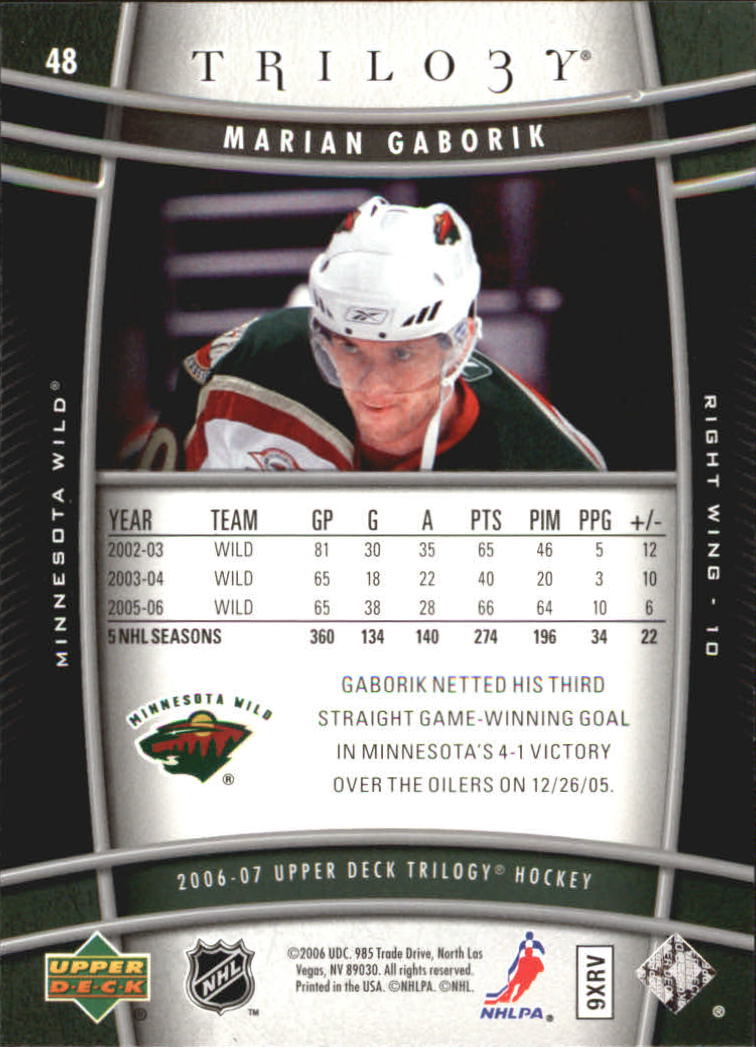 2006-07-Upper-Deck-Trilogy-Hockey-Cards-Pick-From-List thumbnail 71