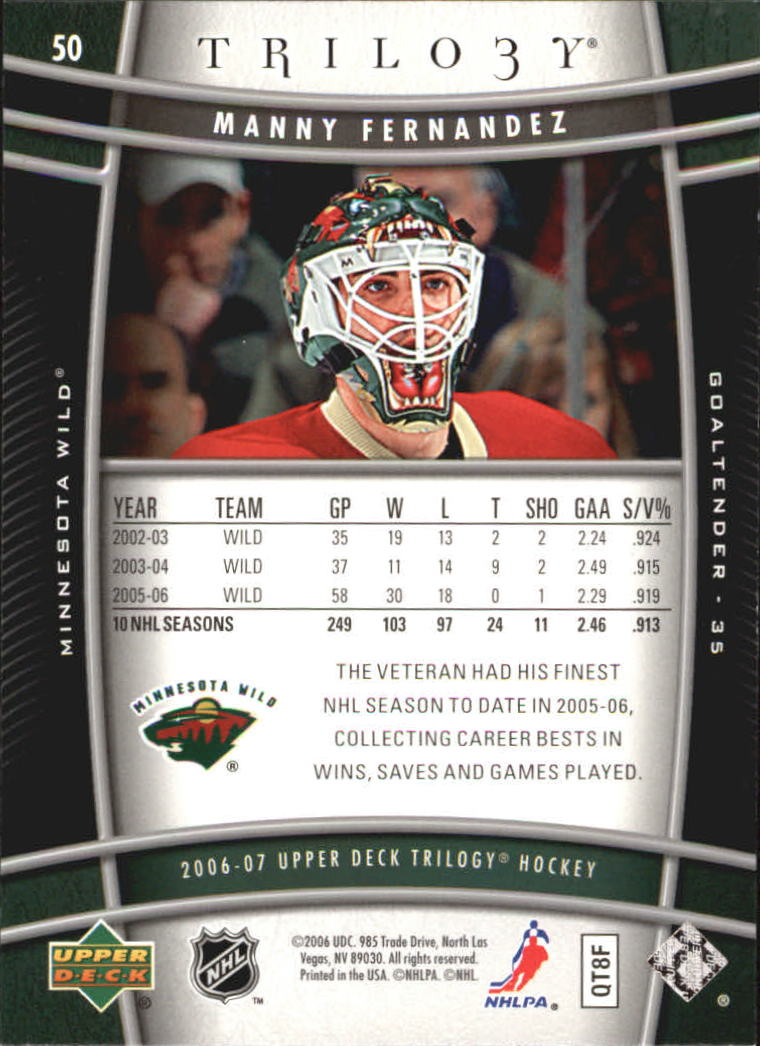 2006-07-Upper-Deck-Trilogy-Hockey-Cards-Pick-From-List thumbnail 75
