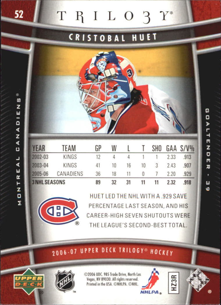 2006-07-Upper-Deck-Trilogy-Hockey-Cards-Pick-From-List thumbnail 79