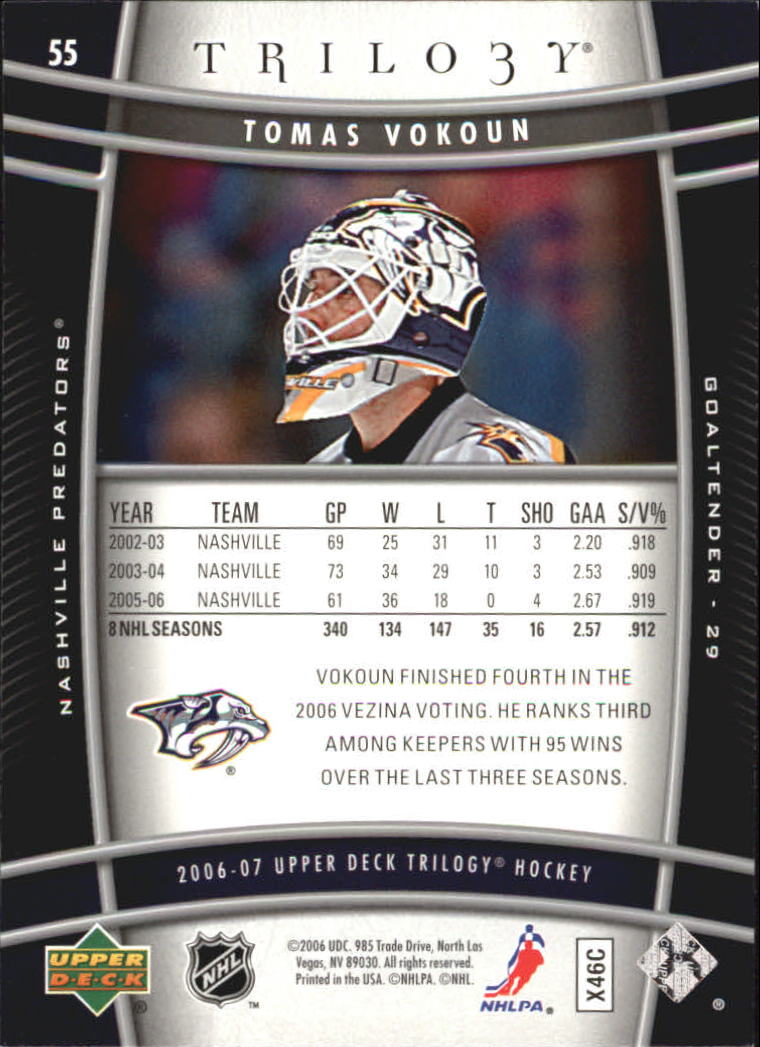 2006-07-Upper-Deck-Trilogy-Hockey-Cards-Pick-From-List thumbnail 83