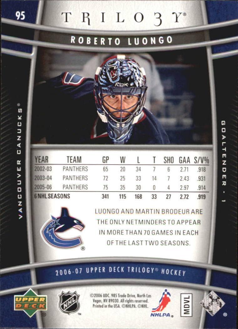 2006-07-Upper-Deck-Trilogy-Hockey-Cards-Pick-From-List thumbnail 124