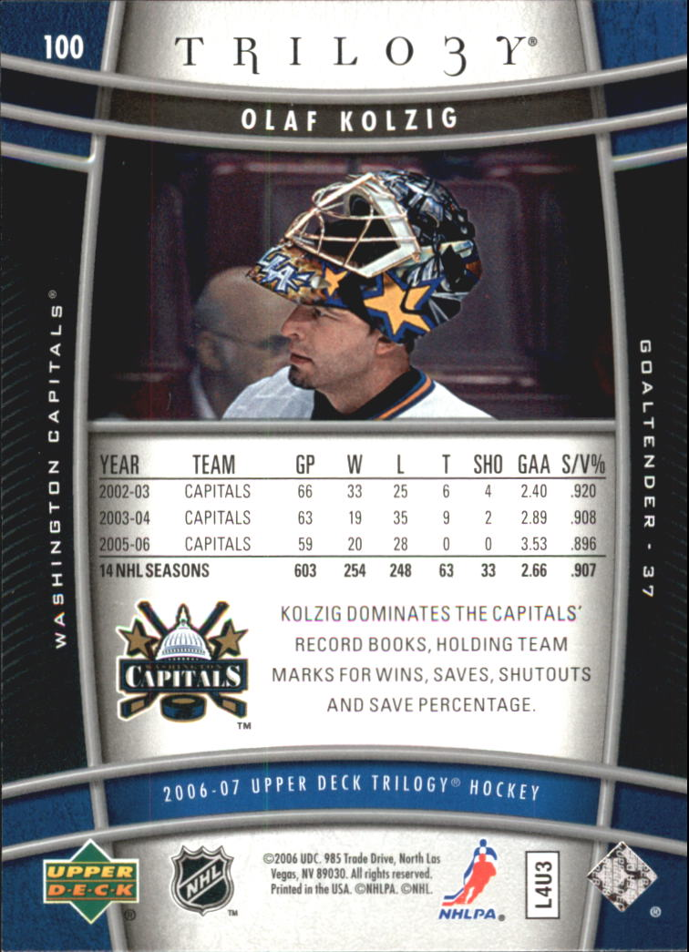 2006-07-Upper-Deck-Trilogy-Hockey-Cards-Pick-From-List thumbnail 129