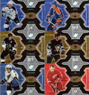 2006-07 SPx #81 Sidney Crosby
