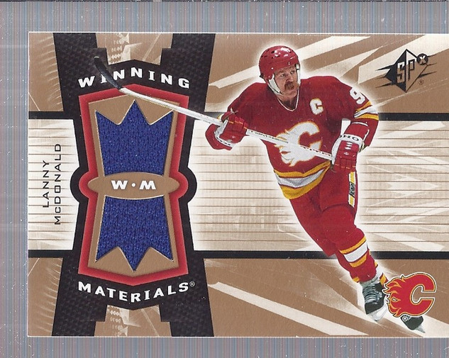 2006-07 SPx Winning Materials #WMLM Lanny McDonald back image