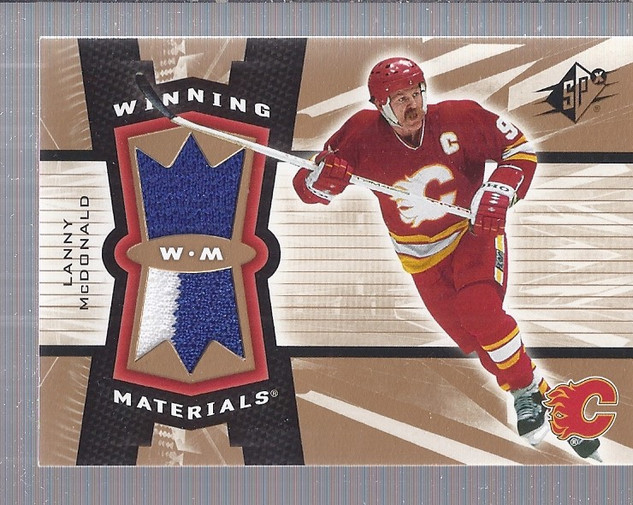 2006-07 SPx Winning Materials #WMLM Lanny McDonald
