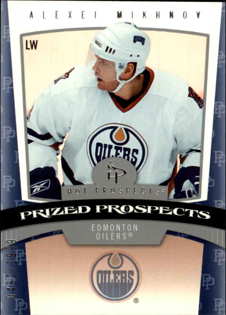 2006-07 Hot Prospects #156 Alexei Mikhnov RC